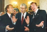 Jamming with the then Prime Minister of the UK, John Major?