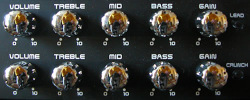 Picture of knobs to help make money with your music